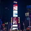 要冷凍!極寒のニューヨーク タイムズスクエア