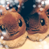 Eevee's MOFU-MOFU Stuffed Toy Slippers