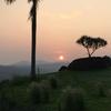 インドネシアの日の出は美しい