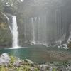 白糸の滝と三保の松原