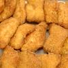 白身魚のフライ オーロラソース