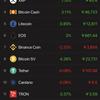 仮想通貨全体の上げ☝️ 止まらないSBLOCKの勢い😋