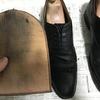 靴磨きが10分短くなる!500円で買える超有能な「ポリッシュグローブ」を紹介する!