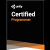 Unity Certified Program試験に合格しました!