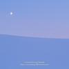 月と冬景色