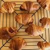 【ベターホーム】パンの会10月、デニッシュ生地でクロワッサン