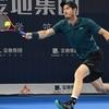 深圳オープン1回戦。なんとか勝利。