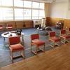学校探訪⑦ 2階メディアコーナー:昔の道具を間近に