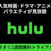 Huluのリアルタイム配信とは?を簡単解説!無料トライアルも有!