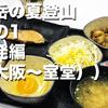 剱岳の夏登山 その1 出発編(大阪〜室堂)