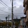 電柱、日本最古です…