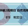 【移植2周期目 自然周期】 BT8 判定日