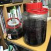 2017ワイン作り 山ぶどう②