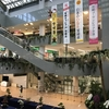 ANAマイレージ修行:宮崎空港の「ラウンジ大淀」でのんびりして、宮崎から羽田へ。