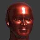 Blender 347日目。「頭部のモデリング」その20。