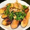 夏の味【1食98円】茄子ステーキ青じそミョウガ鰹醤油ソースの作り方