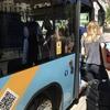カタルーニャ広場からAerobusでエルプラット空港へ移動する