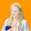 【似顔絵】iPad Proで『マンマ・ミーア!』のキャラクターを描いてみる。〜 ドナ