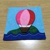 フェルトの布絵本(乗り物編)③気球