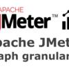 JMeter Dashboard Report グラフの粒度を変更する