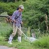 土手草刈り……(の、ちょっと便利な道具)