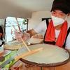 茨城県で開業するオーナー様の現場研修をスーパーオークワ和泉小田店にて実施しております♪スイーツヒーロー