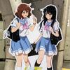 「京阪電車×『響け! ユーフォニアム』2019」コラボ企画、等身大パネル展示を見てきた。
