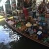 東南アジア紀行④ タリンチャン水上マーケットへ!謎の魚の大群に圧倒!!