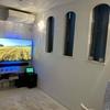 壁掛けテレビを手に入れるために部屋を改造した話