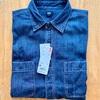 【UNIQLO】デニムワークシャツとデニムシャツ(ボタンダウンカラー)のディテールとサイズ感を比較!