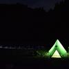 冬の朽木でソロキャンプ:モンベル ムーンライトテント2型で寝ようとしたけど…