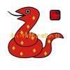 今日は、キン105赤い蛇赤い蛇音1の日。赤い蛇の13日間の始まりです。
