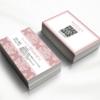 【可愛い名刺作成】サロン開業準備に|エステ・ネイル・美容室・マッサージ女性ショップカードデザイン作成印刷