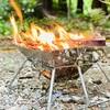 【CARBABYはキャンプ初心者におすすめの焚き火台!コンパクトでコスパも最強!】