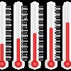 録画サーバのCPU温度とHDD温度を確認する