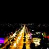 パリでのおすすめは凱旋門からの夜景!
