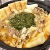 エビ味のキリタンポ?しかもギバサと親鶏鍋。