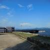 宮島の反対側へ自転車で