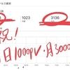 1000pv/1日&ブログ開始2週間で3000pv達成!バリクソに伸びた記事と今後