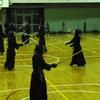 大人の剣道稽古会(堺市立福泉中学校)