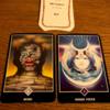 今週をあらわすカードは「Mind」アドバイスカードは「インナーボイス」アロハウハネカードは「叡智」でした