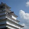 会津の城で アタタタタッ