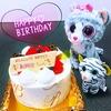 お祝い*7歳のお誕生日イブ( ¨̮⋆)
