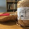 かぎ針編みでドリンクホルダーを作成。この夏活躍する予感ムンムンです。