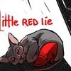 The Little Red Lie 赤い女性が狼を避けながらおばあちゃんを探すホラーゲーム