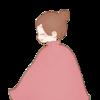 よもぎ蒸しサロンのキャラクターを息子に描いてもらった(有料)