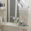 【無印良品】ワイヤークリップを使って歯磨き粉&洗顔フォームを収納する