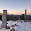 雪の雲取山③ 山頂の御来光と七ツ石山 鴨沢へ下山する 2020.1.5~1.6