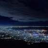 六甲山からの夜景は素晴らしかった。