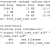 Ac6 SystemWorkbench for STM32でメモリ使用量を%で出力する方法